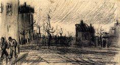 City View 1885 Vincent van Gogh
