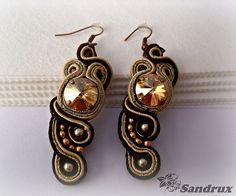 Pendientes soutache by Sandrux Bisuteria, via Flickr