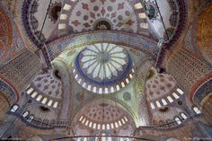 Inside Blue Mosque ,Istanbul