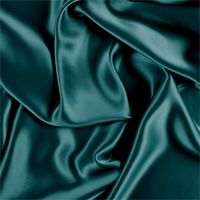 Teal Stretch Silk Charmeuse
