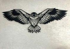 34 ideas tattoo geometric bird tat for 2019 - 34 ideas tattoo geometric bird t . - 34 ideas tattoo geometric bird tat for 2019 – 34 ideas tattoo geometric bird tat for 2019 - Neue Tattoos, Body Art Tattoos, Sleeve Tattoos, Cool Tattoos, Tatoos, Bird Tattoo Men, Hawk Tattoo, Discret Tattoo, Tattoo Geometrique