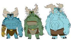 Lusey Draws Stuff — Kitlar Trolls The Kitlar are a race of trolls...
