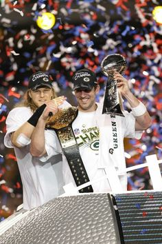 Aaron Rodgers and Clay Matthews.