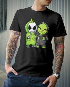 208190e7 Baby Grinch and Jack Skellington T shirt and Hoodie Watch The Grinch, Baby  Grinch,