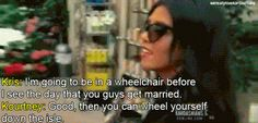 I don't watch this much but kourtney is hilarious. Kardashian Quotes, Kourtney Kardashian, Lord Disick, Jenner Family, Cute Funny Quotes, All Smiles, Reality Tv, Make Me Smile, I Laughed