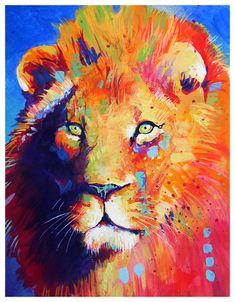 Lion by TooMuchColor.deviantart.com on @DeviantArt
