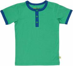 MALA shirt Groen-Blauw - KoelzKidz kinderkleding