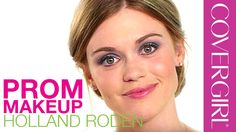 Prom Makeup Ideas with Holland Roden from MTV Teen Wolf | COVERGIRL (April 2015)