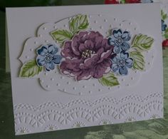 Stippled blossoms ; Apothecary accents framelits ; Delicate designs TIEF
