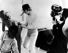 A Clockwork Orange, definitely the weirdest movie I've ever seen.