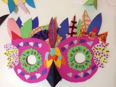 masque chouette Atelier 3b la boite à idées créatives pour les enfants