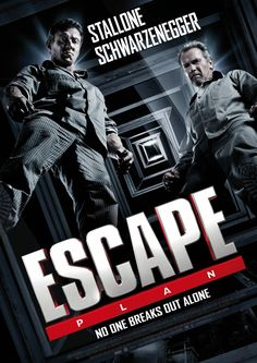 Escape Plan is a 2013 American action thriller film starring Sylvester Stallone and Arnold Schwarzenegger, and co-starring Jim Caviezel, 50 Cent, Vinnie Jones, Arnold Schwarzenegger, Stallone Schwarzenegger, Sylvester Stallone, Jim Caviezel, Plan Movie, Stallone Movies, Bon Film, The Image Movie, Hd Movies Download