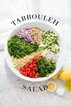 tabbouleh salad | designlovefest
