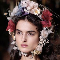 Blanca Padilla at Dior S/S '17 Couture
