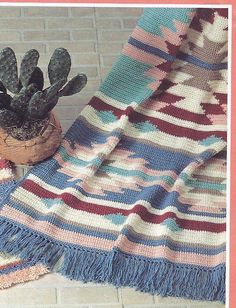 Crochet Indian Afghan Pattern | crochet_pattern_563.jpg