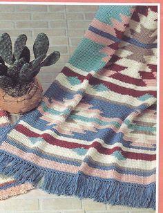 Crochet Indian Afghan Pattern | crochet_pattern_563.jpg