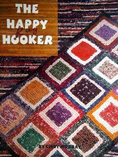 The Happy Rug Hooker By Cindy Murray Locker Rug Hooking Book 2003