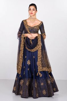 Fancy Lehenga Choli for women, Lehenga Choli, Chaniya Choli, New Lehenga Choli, Royal Blue Lehenga Choli Indian Lehenga, Lehenga Indien, Navy Blue Lehenga, Cape Lehenga, Lehenga Choli Designs, Lehenga Choli Wedding, Mode Bollywood, Bollywood Fashion, Outfits