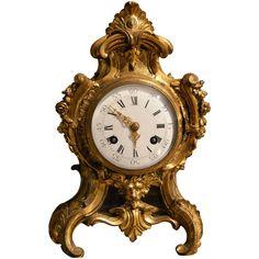French Rococo Ormolu Cased Clock circa 1750