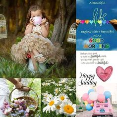 Happy Sunday Quotes, Good Morning Quotes, Happy Saturday, Happy Weekend, Hello Sunday, Morning Messages, Morning Greeting, Collages, Evening Greetings