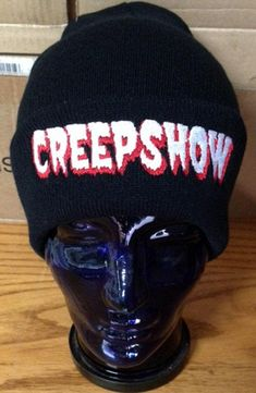 Your place to buy and sell all things handmade George Romero, Black Thread, Horror, Take That, Hats, Red, Beanies, Sci Fi, Color Black