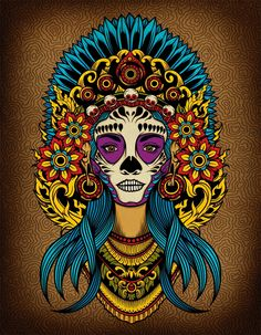 Adobe Illustrator tutorial: Create a Death Goddess inspired by Mexico's Day of the Dead - Digital Arts