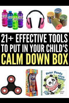 Looking for ideas to put into your child's calm down kit? Perfect for kids with anger management challenges and those with autism, anxiety, ADHD, and other special needs, this collection of tools and ideas will help children cope when an autism meltdown threatens to erupt. Keep a kit at home, in the classroom, and in your car so you're always prepared when your child becomes overwhelmed, and remember: while it may be difficult to learn how to deal with autism, you WILL find your way.