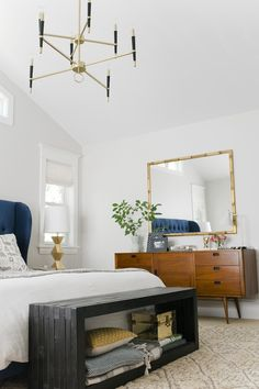 i am in love with this bedroom makeover by @Emily Henderson