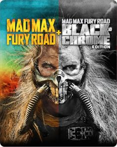 Buy Mad Max: Fury Road Black & Chrome Edition - Zavvi Exclusive Steelbook (Includes Colour Theatrical Cut) from Zavvi, the home of pop culture. Take advantage of great prices on Blu-ray, merchandise, games, clothing and more! Max Black, Black And White, Mad Max Fury Road, Nathan Jones, Imperator Furiosa, Courtney Eaton, Riley Keough, The Warlord, Nicholas Hoult