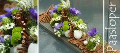 Pure decoration Easter Flower Arrangements, Easter Flowers, Floral Arrangements, Table Flowers, Easter Crafts, Flower Designs, Flower Art, Diy And Crafts, Floral Design