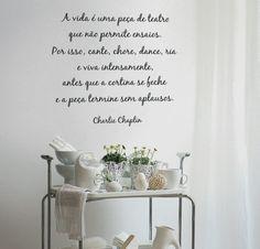 Charlie Chaplin, decoração para a casa, by I-Stick
