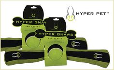 Hyper Gnaws Sticks from Hyper Pet are durable plush squeaky toys that your pup is sure to love!