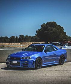 Nissan Gtr 34, Nissan Skyline Gtr R32, Gtr R35, Nissan Sports Cars, Sport Cars, Tuner Cars, Jdm Cars, Fancy Cars, Nice Cars