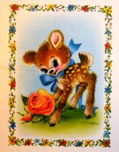 Cute Deer Card