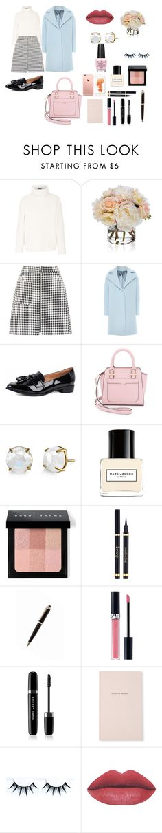 """""""March"""" by nsrlove ❤ liked on Polyvore featuring Theory, Diane James, New Look, MaxMara, Rebecca Minkoff, Irene Neuwirth, Marc Jacobs, Bobbi Brown Cosmetics, Yves Saint Laurent and Christian Dior"""