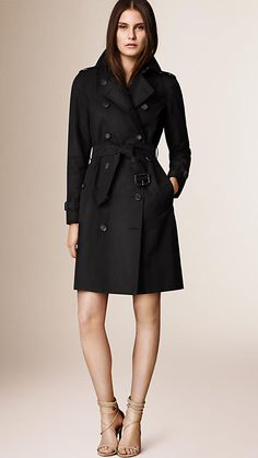 Black The Westminster - Long Heritage Trench Coat - Image 1