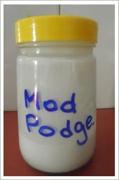 diy modpodge
