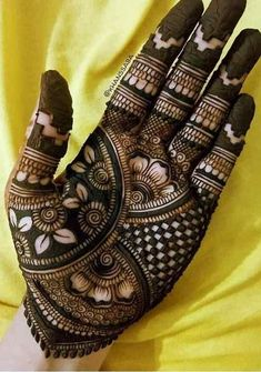 Pin For Trend Presented Full Hand Mehandi Designs That You Must Try - Mehandi Designs 2019 (Latest Mehandi Design Images Collection Latest Bridal Mehndi Designs, Full Hand Mehndi Designs, Stylish Mehndi Designs, Mehndi Designs 2018, Mehndi Designs For Beginners, Mehndi Designs For Girls, Mehndi Design Photos, Wedding Mehndi Designs, Latest Design Of Mehndi