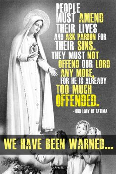 Message of Our Lady of Fatima