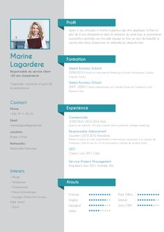 CV traditionnel Energique ---CLICK IMAGE FOR MORE--- resume how to write a resume resume tips resume examples for student