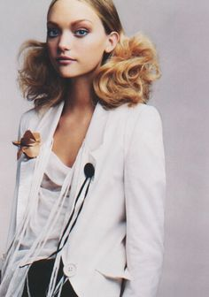 """Back in Business"", Gemma Ward photographed by Craig McDean in Vogue January 2005"