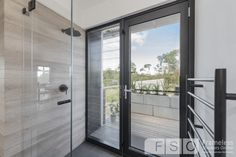 Claralite™ barely seen over timber look tiles Shower Screens, Bath Screens, Frameless Shower, Showers, Tiles, Inspiration, Furniture, Design, Home Decor