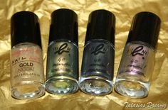 agnes b. nail polish http://www.talasia.de/2012/11/27/agnes-b-mini-nagellack-kollektion-skarabaeus-gold/