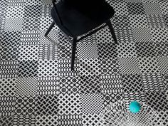 the graphic tiles of Tagina http://rbctile.com/series/deco-d-antan/