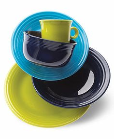 Love all the mix and match colors of the Fiesta Dinnerware Collection! http://rstyle.me/n/efza9nyg6