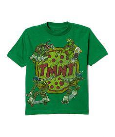 Teenage Mutant Ninja Turtles Green TMNT Pizza Tee - Boys 96bcfa014601