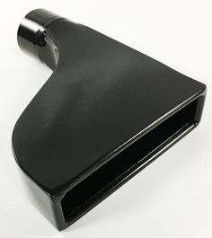 Exhaust Tip 2.50 Inlet 2.25 X 7.75 Outlet 10 Long Rolled Straight Black Stainless Right Side W225775-250-BK-CMSS-RS Wesdon Exhaust Tip