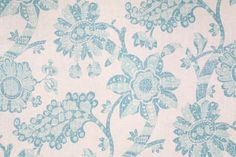 PK Lifestyles Wythe House Resist Printed Linen Blend Drapery Fabric in Peacock $11.95 per yard