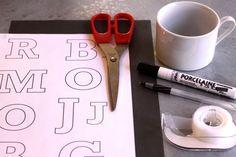 Una Pizca de Hogar: Con estas manitas, Tazas Personalizadas Express (DIY)