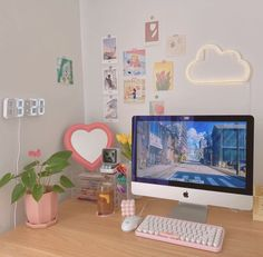 Pastel Room Decor, Cute Room Decor, Pastel Bedroom, Hipster Room Decor, Indie Room Decor, Study Room Decor, Room Setup, Army Room Decor, Study Rooms